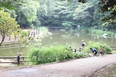児童遊園地-池