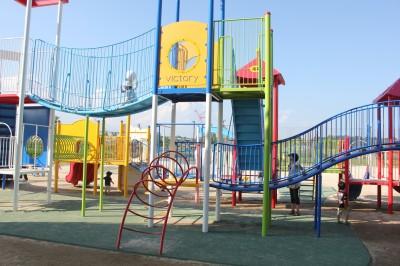 新横浜公園-遊具充実