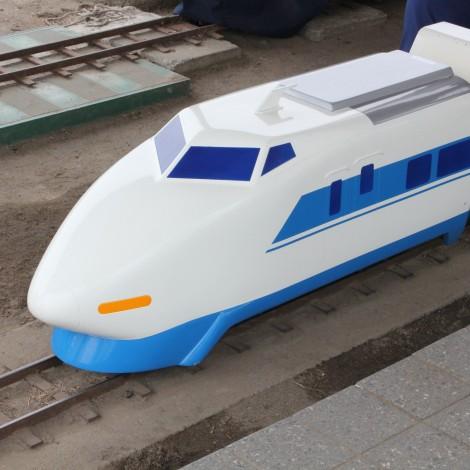 府中競馬場-ミニ新幹線