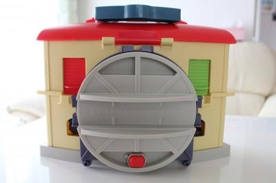 チャギントンの玩具収納回転台