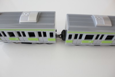 100円電車-連結