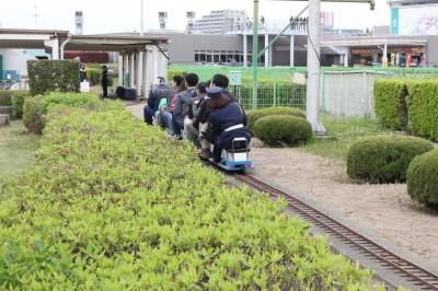 府中競馬場-ミニ新幹線乗車