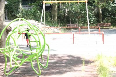 三ツ池公園-ブランコ
