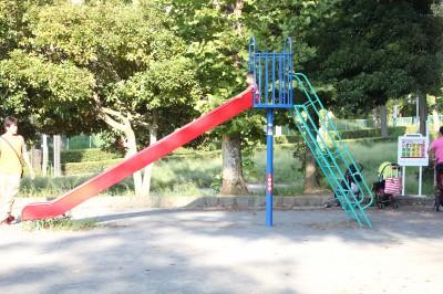 美しが丘公園ー滑り台単体
