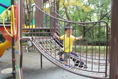 児童遊園地-ロープアスレチック