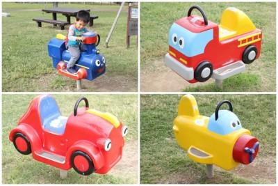 大森ふるさとの浜辺公園-車の遊具