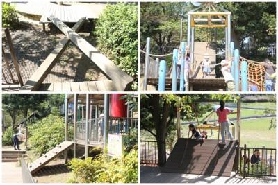 忍者トリデの遊び方は様々-岸根公園
