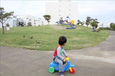 大森ふるさとの浜辺公園-遊具広場