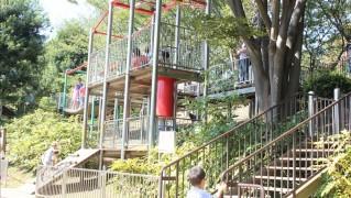 ちょっと変わった遊具忍者トリデ-岸根公園