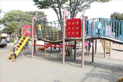 里山公園人気の遊具
