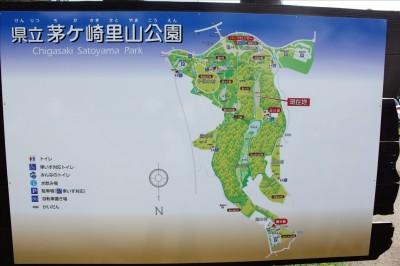里山公園内案内図