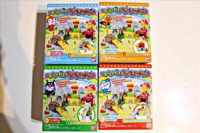 つなげて遊べるアンパンマンランド全4種類パッケージ
