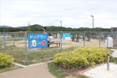 浜松SA-ドッグラン