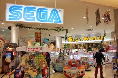 トレッサ横浜のセガのゲーセン