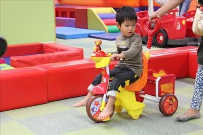 アンパンマンの三輪車