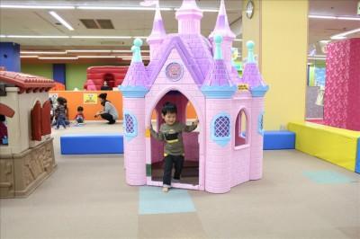 ピンクのお城-ファンタジーキッズリゾート