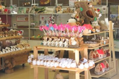 町田リス園の売店