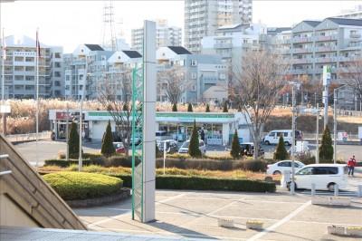 稲城中央公園前にあるファミリーマート