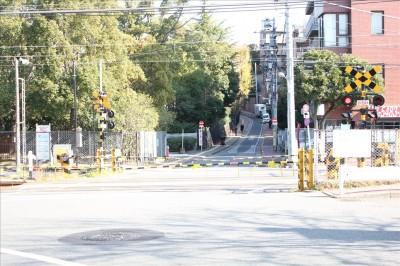多摩川台-踏切