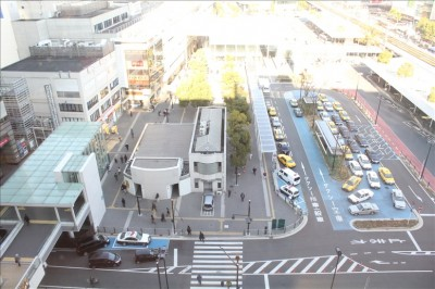 川崎ルフロン9F(キドキド)からの景色