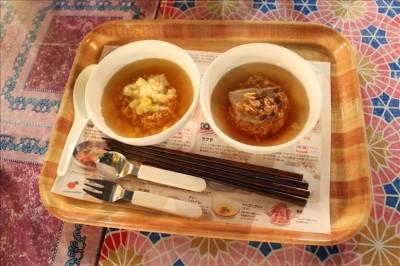 百円のミニチキンラーメン