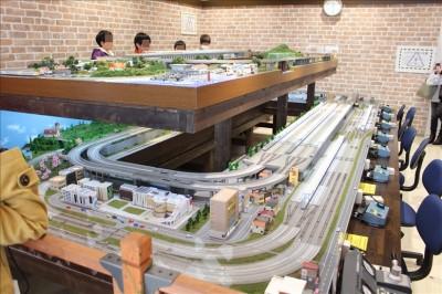 ポポンデッタ鉄道模型ジオラマ