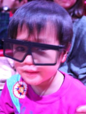 シネマ3Dメガネ