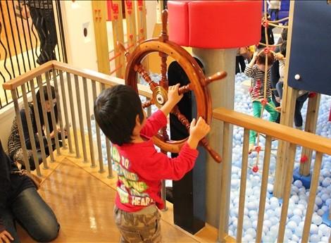 海賊船の舵
