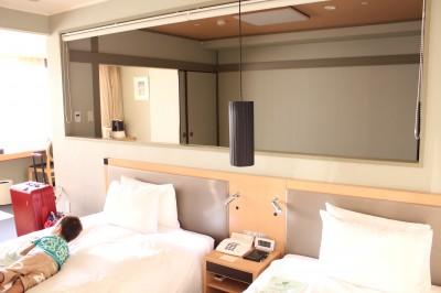 ホテルエピナール那須のベッド