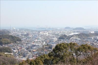 絶景な展望台からの景色