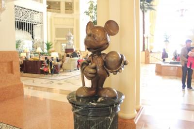 ホテルのミッキー