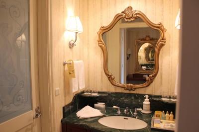 ディスニーランドホテルの洗面所