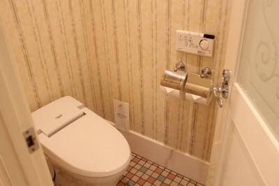 ディズニーランドホテルの部屋のトイレ