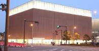 コスモワールドから撮影したカップヌードルミュージアム