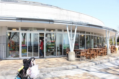金沢自然公園内の売店