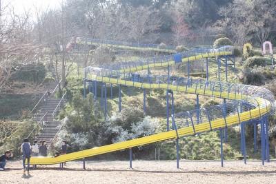 ロングローラー滑り台全体写真