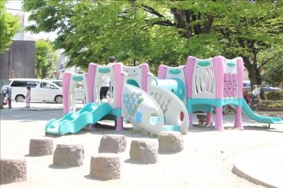 大師公園幼児用の遊具