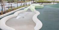水遊びができる子供達に人気のスポット