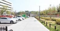 二子玉川公園駐車場の様子