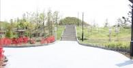 二子玉川公園入り口(河川敷側)付近