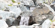 二子玉川日本庭園の滝