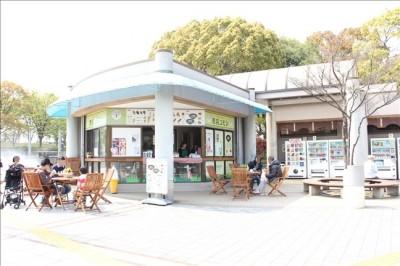 売店(噴水広場隣)どんぐり茶を販売