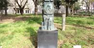 【四季園】石像(見張り塔からずっと)
