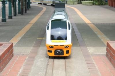 北鹿浜公園のミニ鉄道