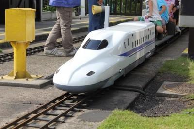 新宿交通公園のミニ新幹線
