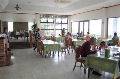 ガーデンレストラン・ロスマリネス店内の様子