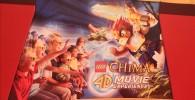 壁に描かれたREGEND OF 4D CHIMAとアニメアート