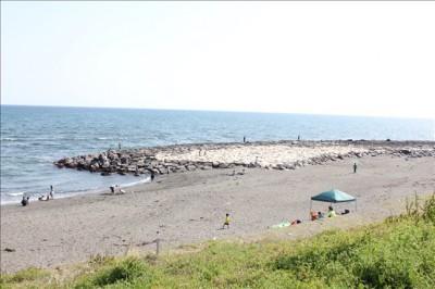 湘南サザンビーチの様子