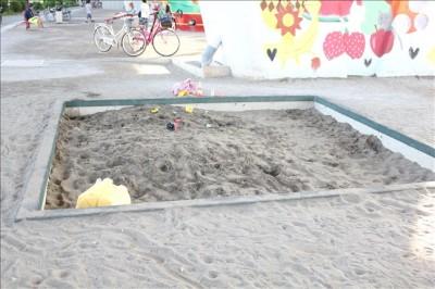 広めのお砂場