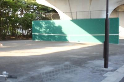 テニス練習場